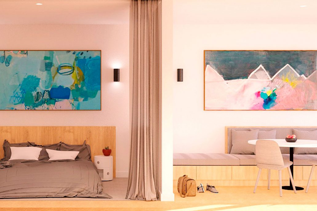 Studio and One Bedroom Apartment
